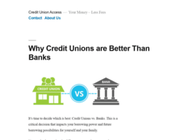 creditunionaccess.com