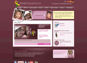 findmadeleine.com