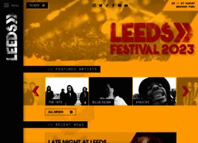 leedsfestival.com